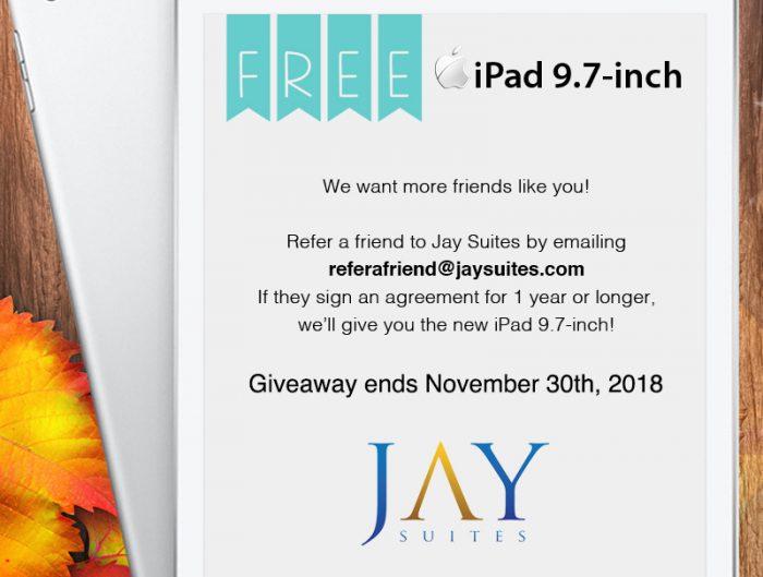 free ipad contest