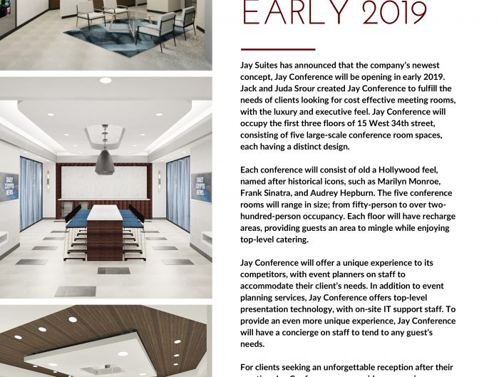 jay suites conferences open in 2019
