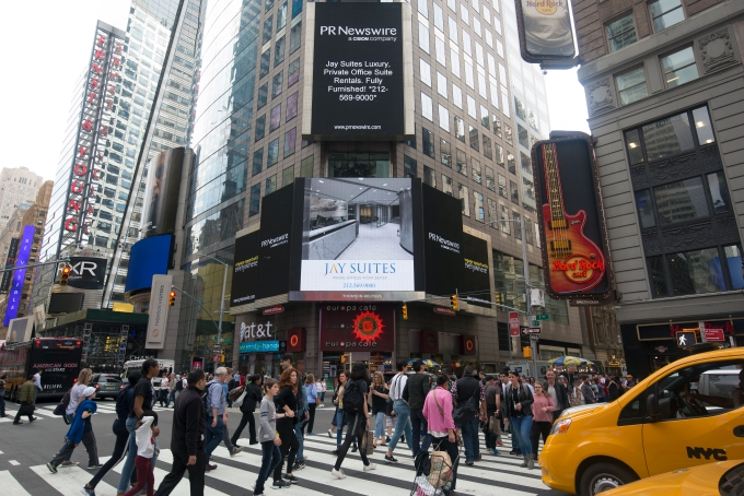 Jay Suites Office in Times Sq