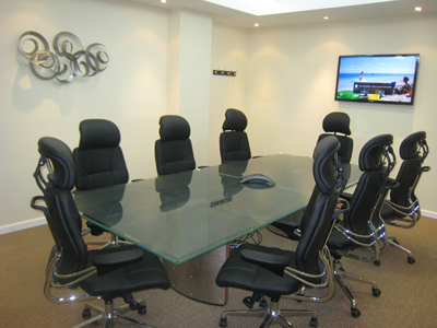 New york office space new york virtual offices new york for 12 person conference table