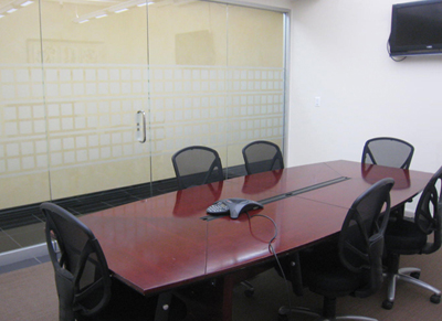 Reserve Conference Room Rental NYC Meeting Space NYC Rental Jay - 8 person conference table