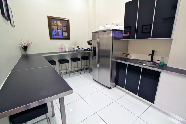 break rooms with kitchens in office center