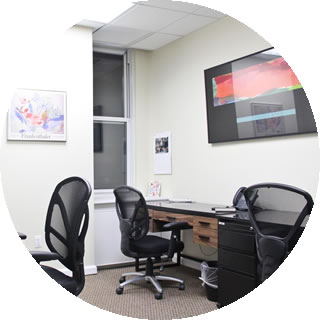 shared office space nyc