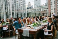 outdoor event space midtown nyc office party